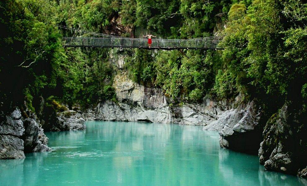 Hokitika Gorge - New Zealand