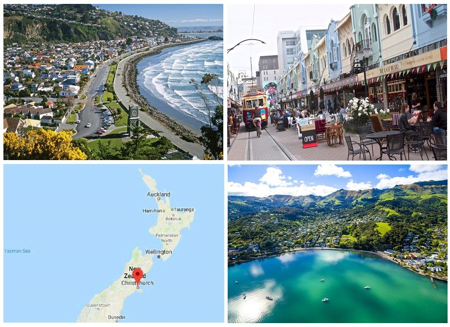 Christchurch in New Zealand