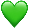 green heart symbol