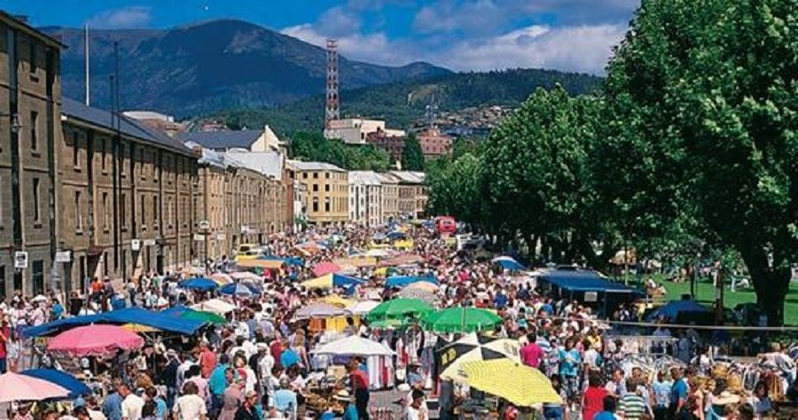 Salamanca Market - Tasmania